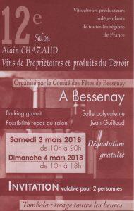 invitation Bessenay